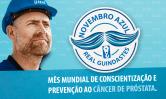 Novembro Azul 2018 – Mês mundial de  prevenção ao câncer de próstata