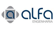 logotipo alfa engenharia