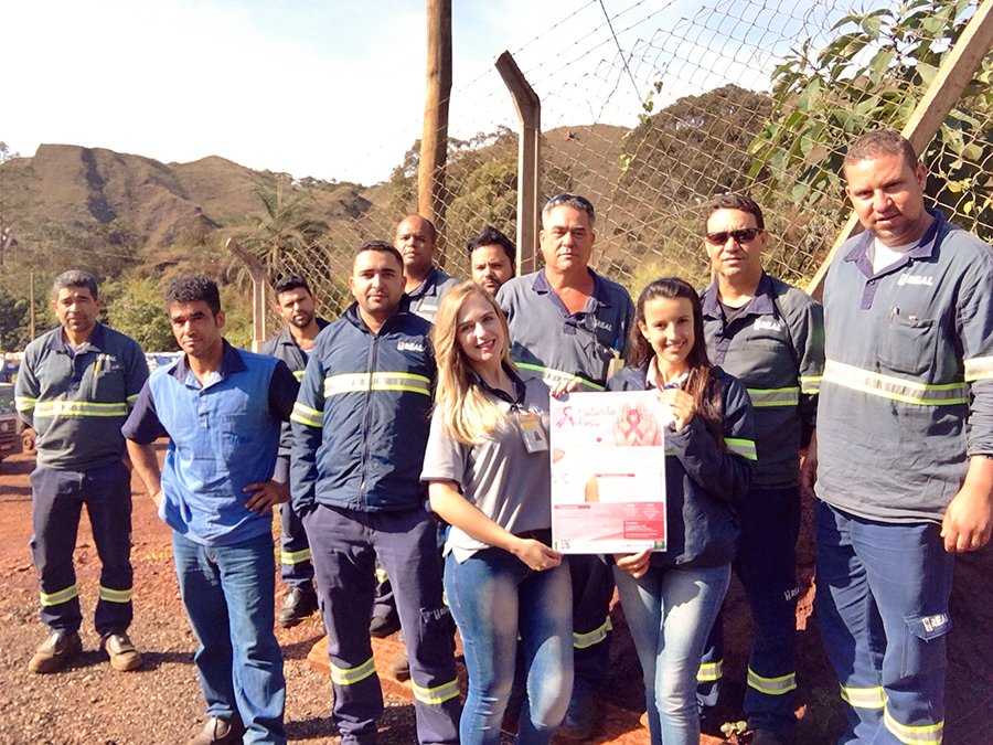 nossa equipe em Ouro Preto também participou do evento