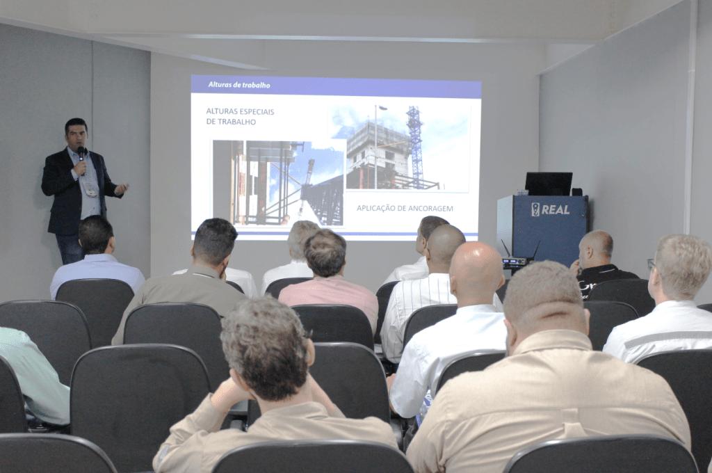 workshop apresentou características das gruas