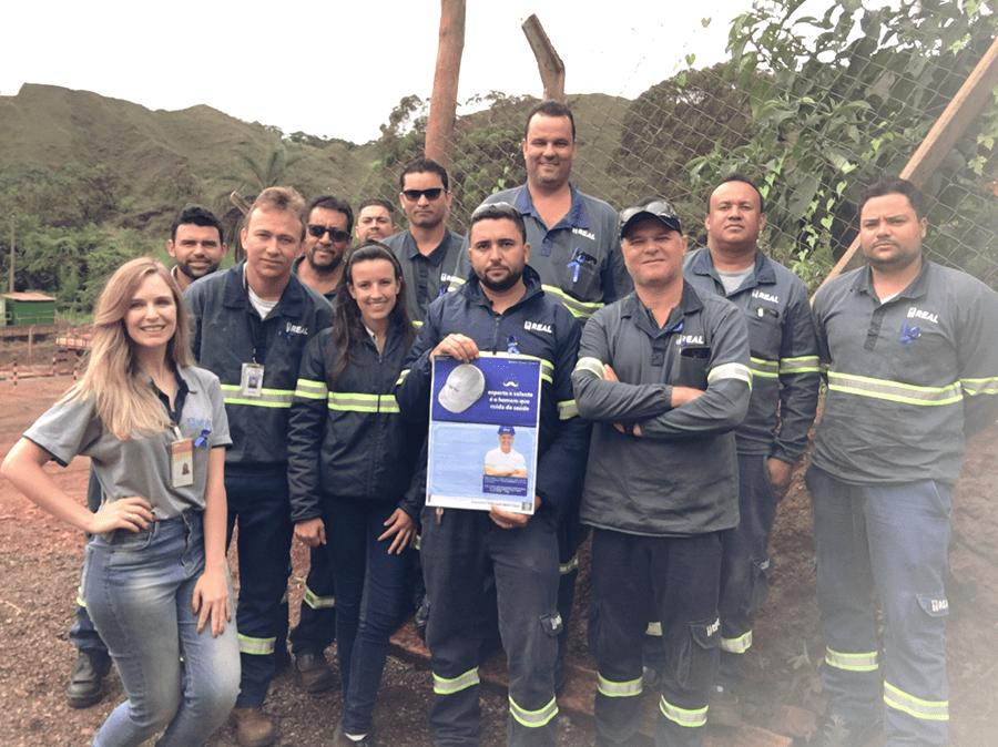 Equipe mina de fábrica participa do novembro azul