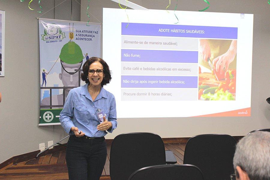 Maria Tércia - SODEXO - fala sobre os hábitos saudáveis que previnem doenças cardiovasculares