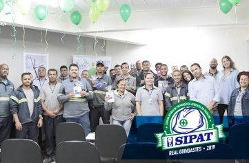 funcionários real guindastes em palestra sipat 2019