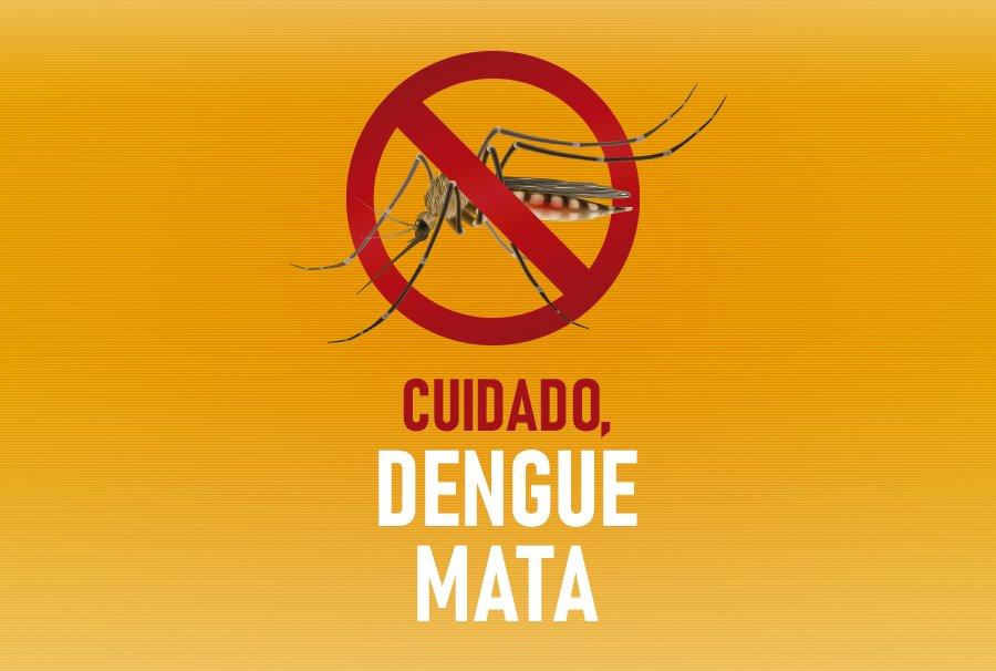 Cuidado, dengue mata!