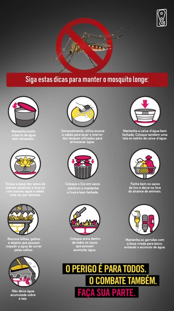 dicas de prevenção à dengue