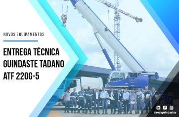 NOVOS GUINDASTES TADANO ATF 220G-5